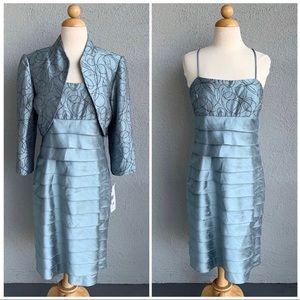 Eliza J 2 Pcs Beaded Dress Set Size 10